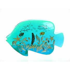 Acrylic Blue Fish Napkinholder