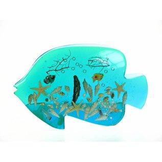 Acrylic Blue Fish Napkinholder