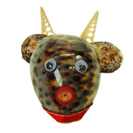 SEAURCO Reindeer Craft Kit, Seashell shell Craft kit