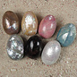 SEAURCO Mother of Pearl Seashell Easter Egg - Assorted Colours