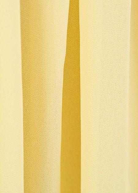 Lange maxi rok geel