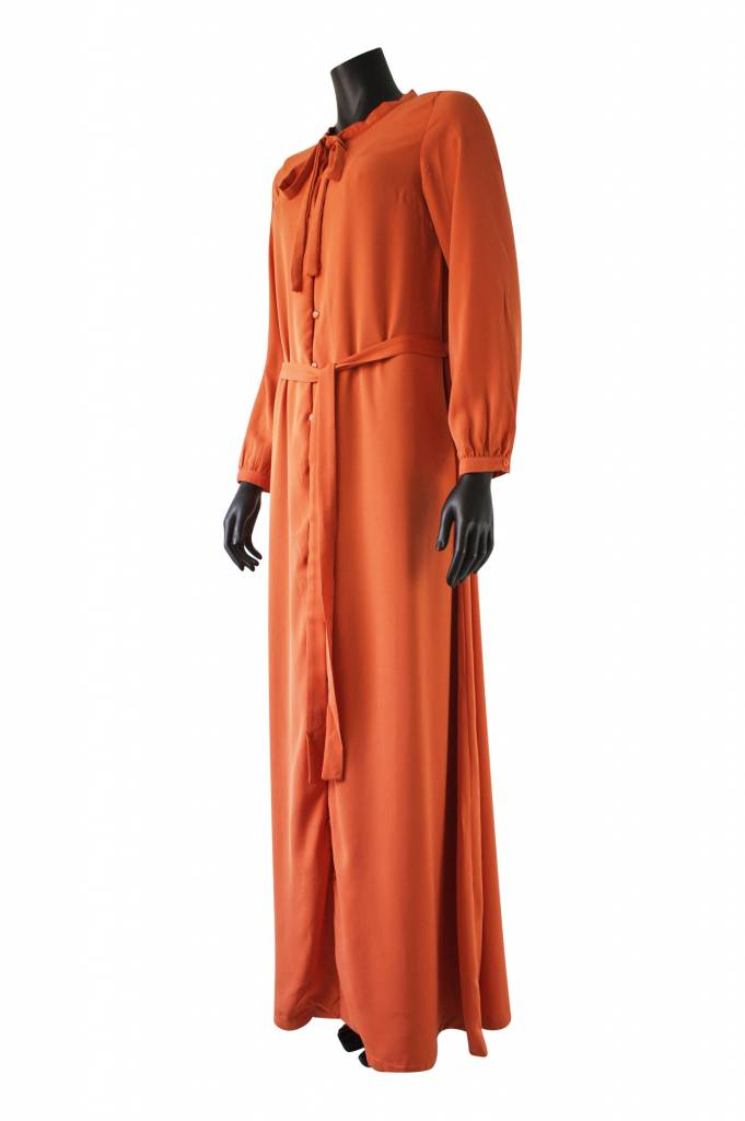 Maxi jurk pietra oranje