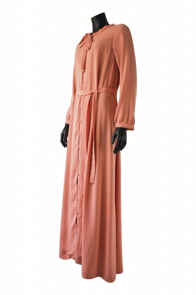 Maxi jurk pietra roze