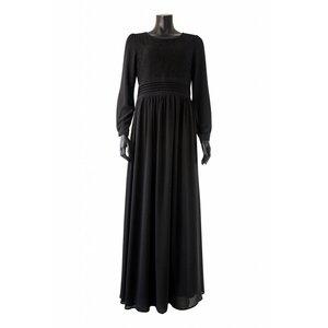 Maxi jurk milazo zwart