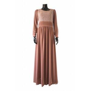 Maxi jurk milazo taupe