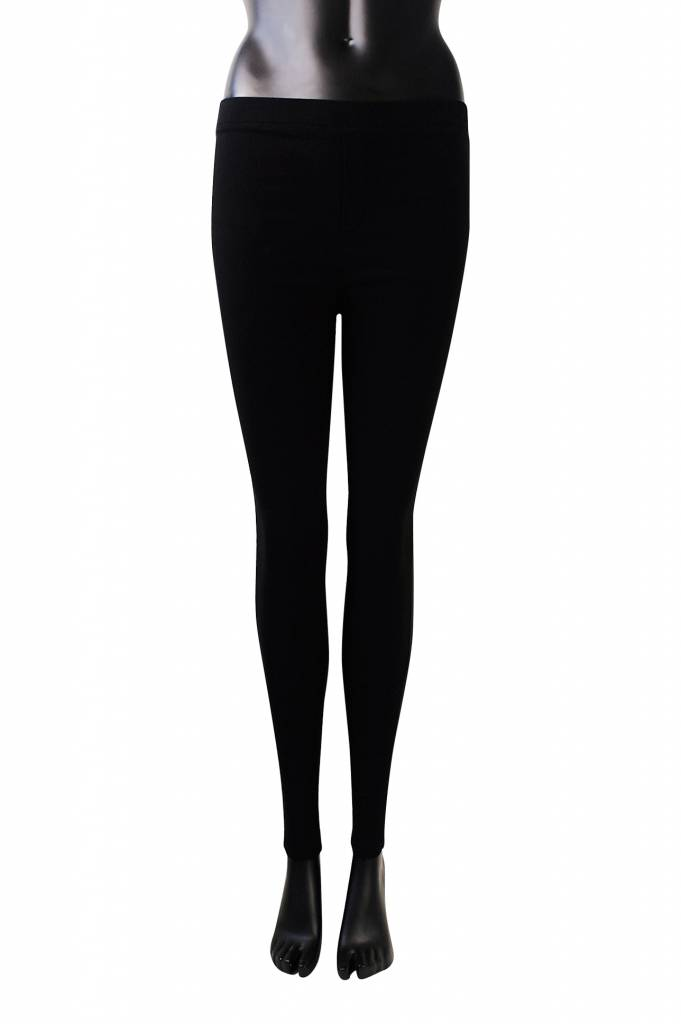 Stretch broek carrara zwart