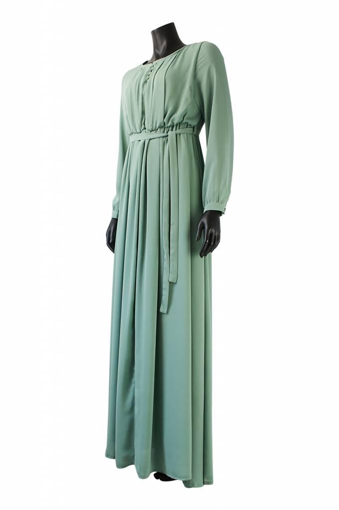 Maxi jurk palmdale mint