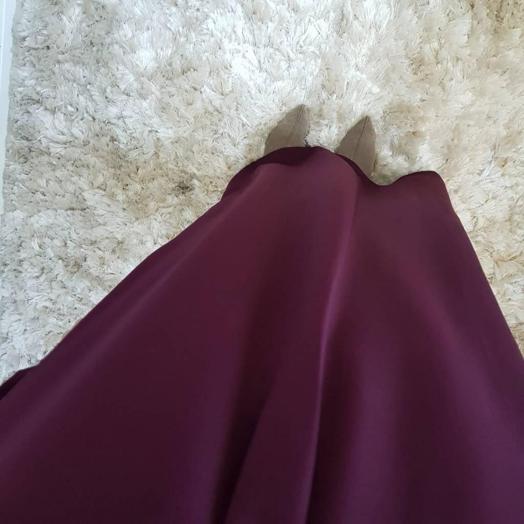 Abaya albarella bordeaux