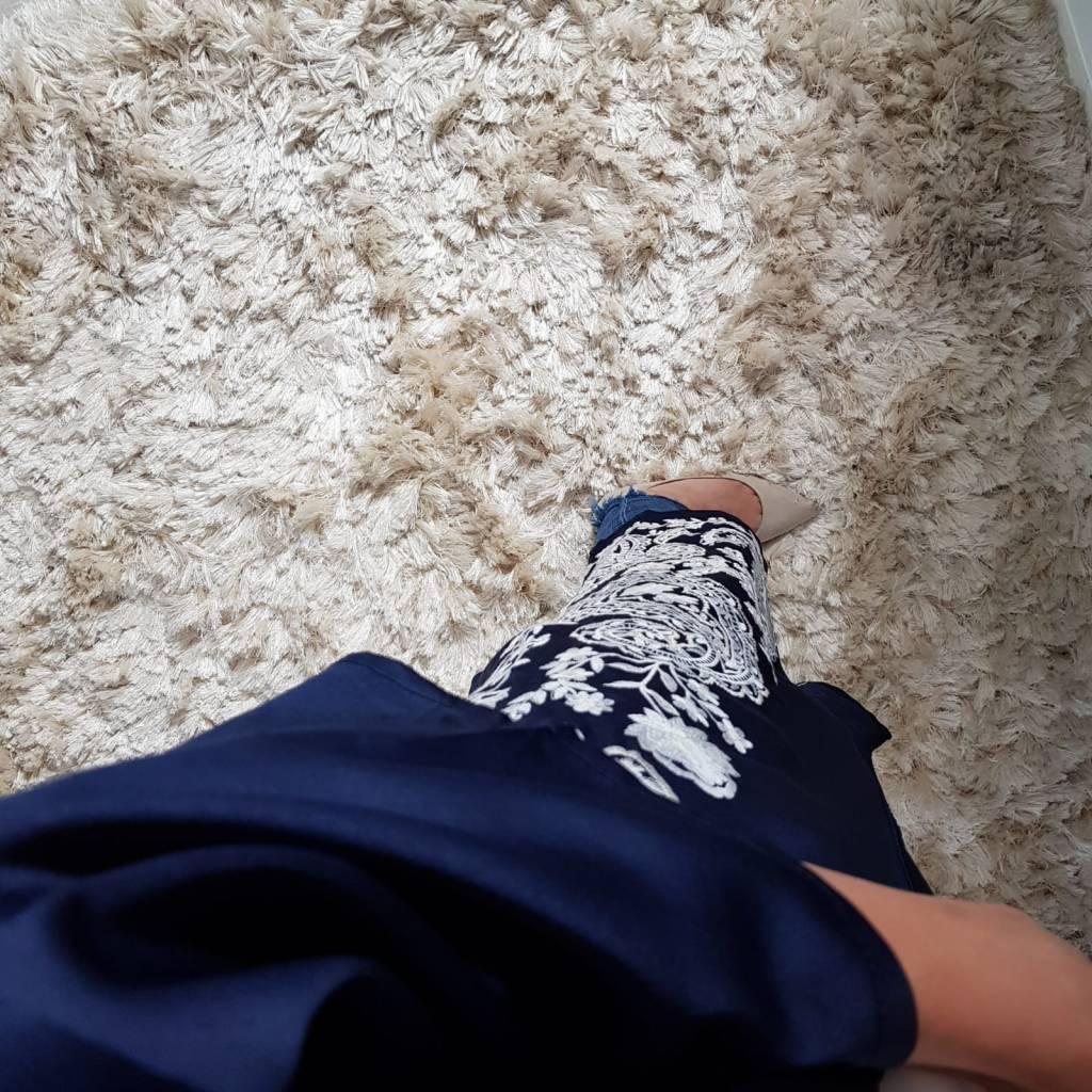 Kimono belvedere donkerblauw