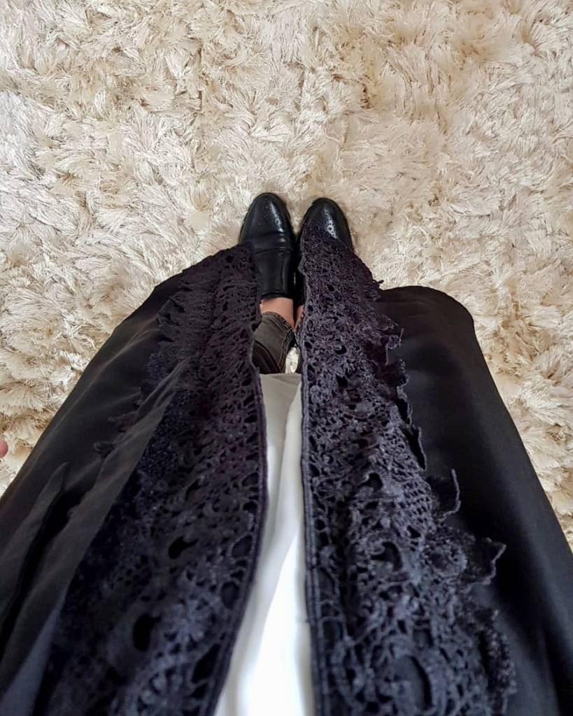 Kimono chivari zwart