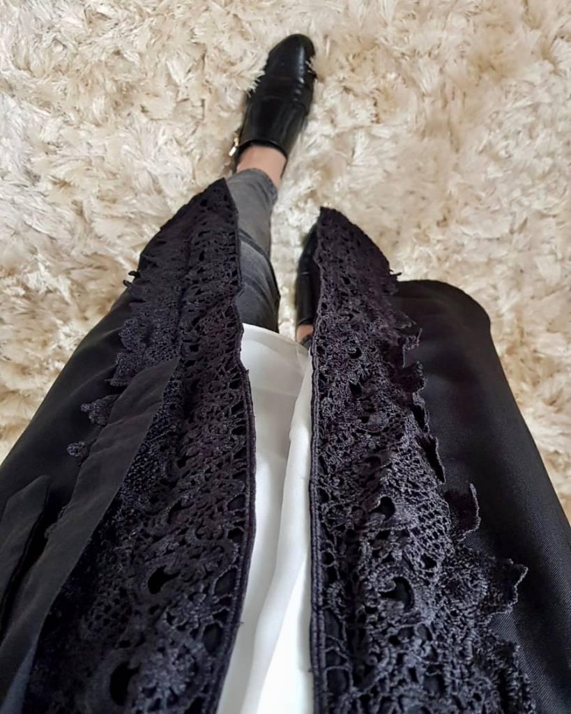 kimono chivari 213 zwart