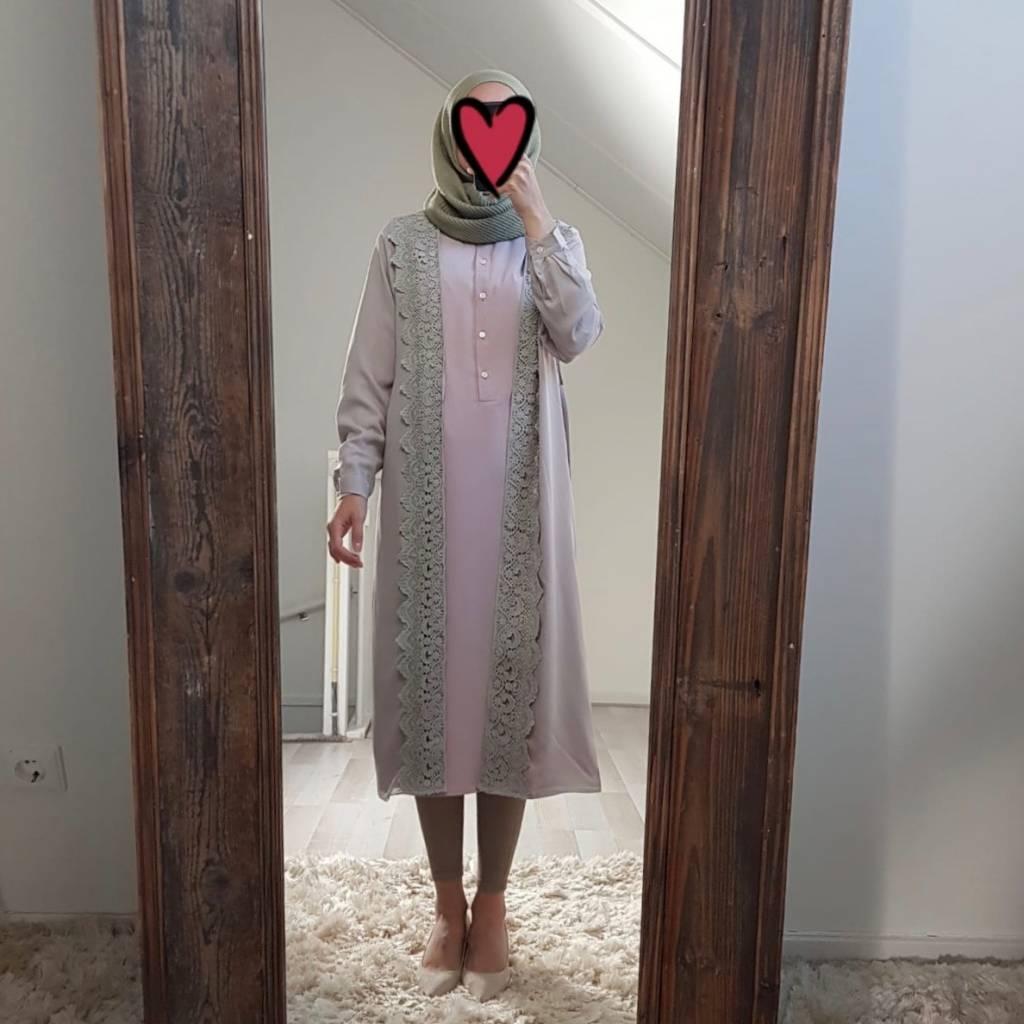 Kimono chivari beige