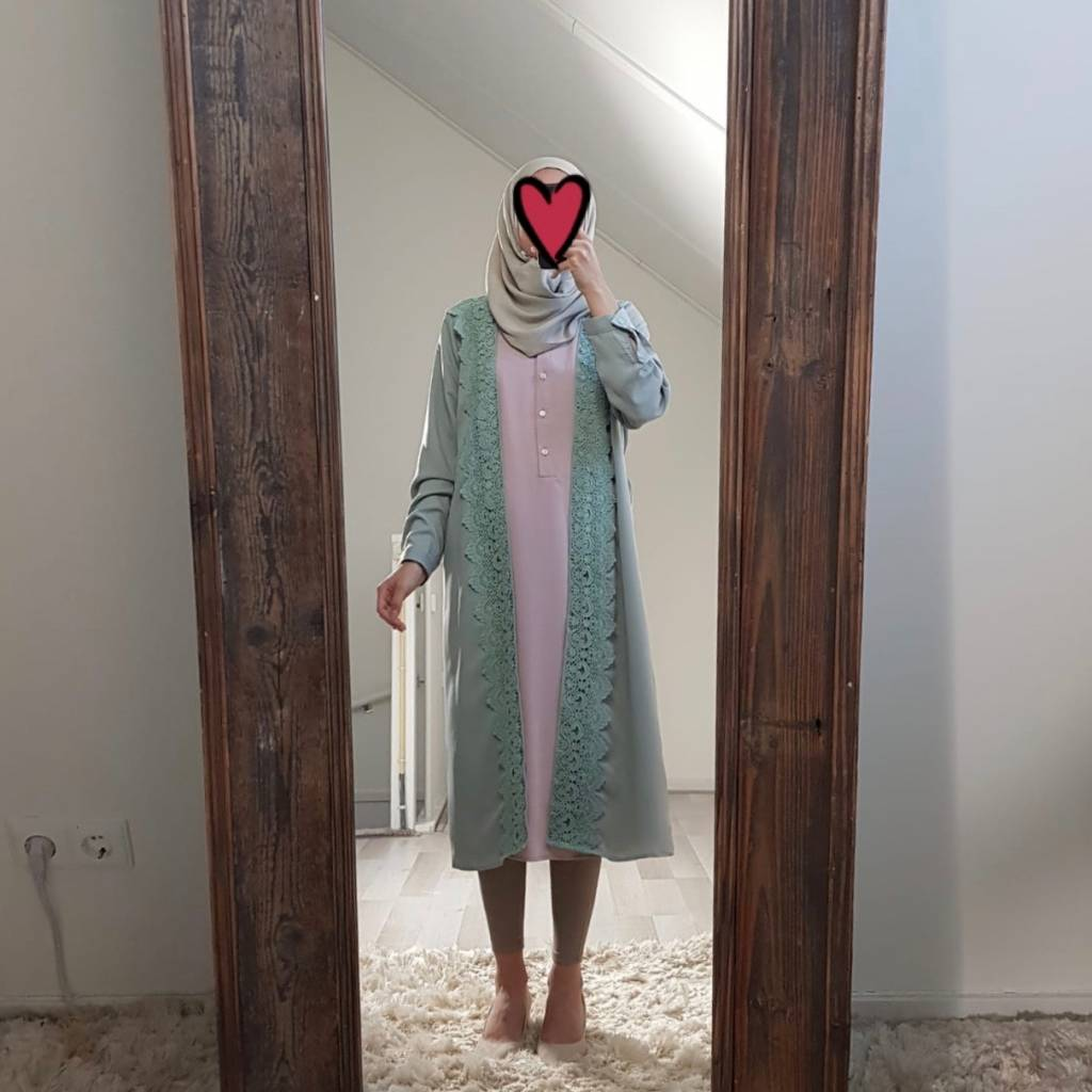 Kimono chivari mint