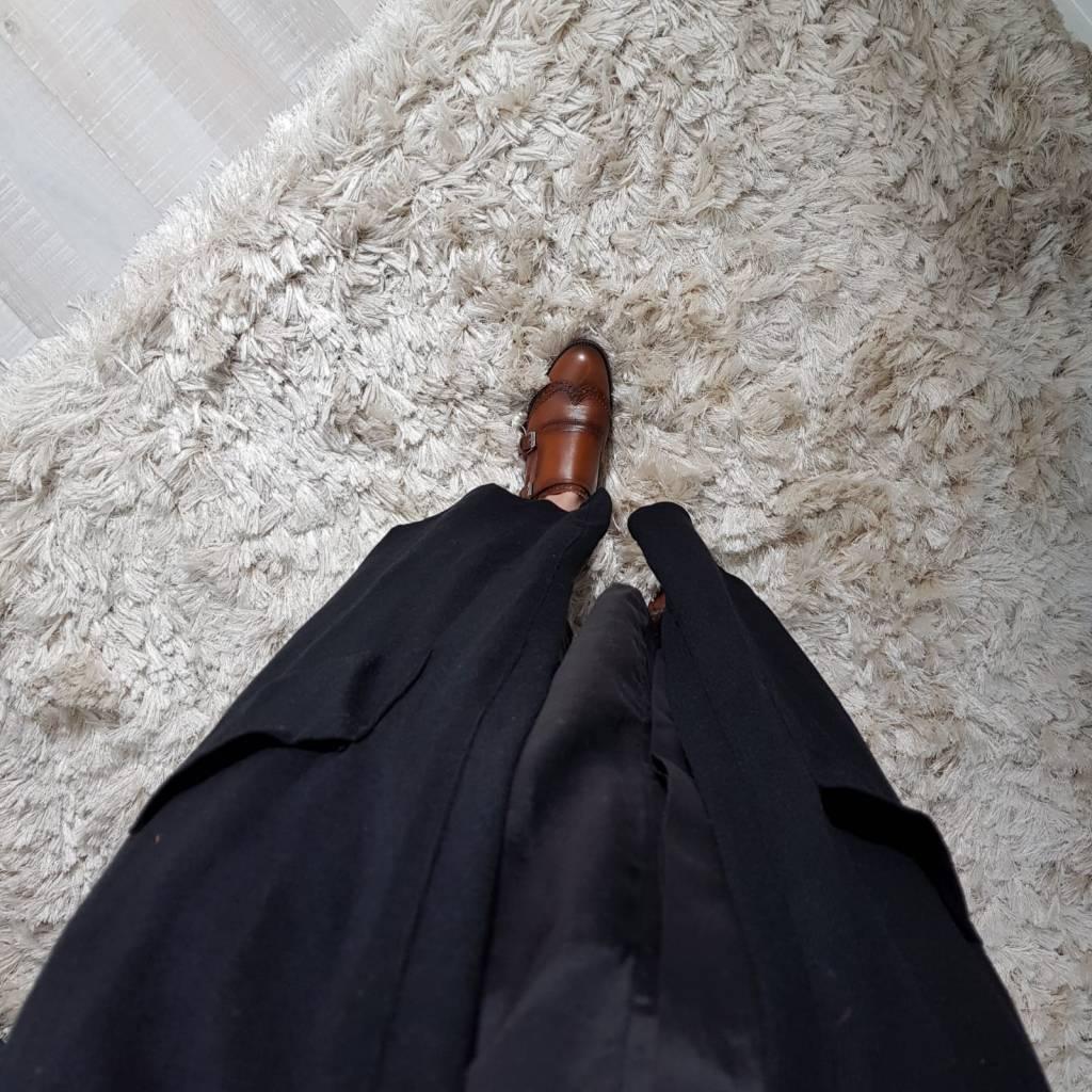 Full length vest citara zwart