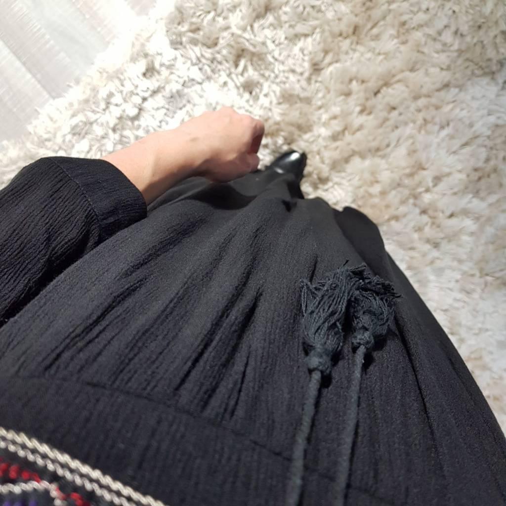 Jurk portici zwart