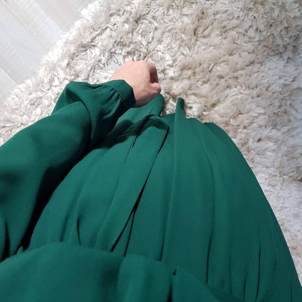 Maxi jurk palmdale 087 groen