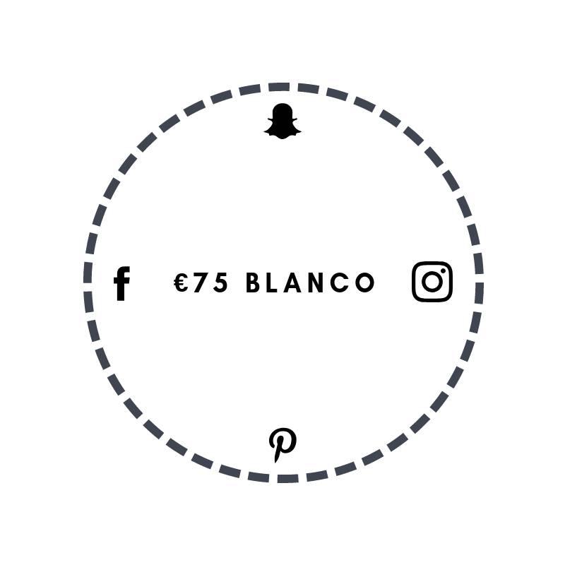 Blanco €75