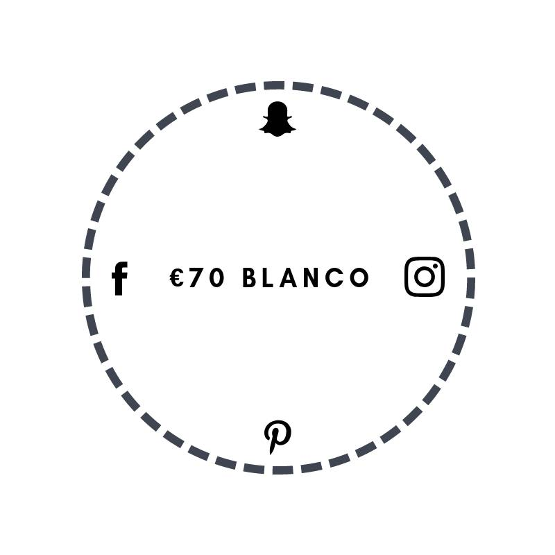 Blanco €70