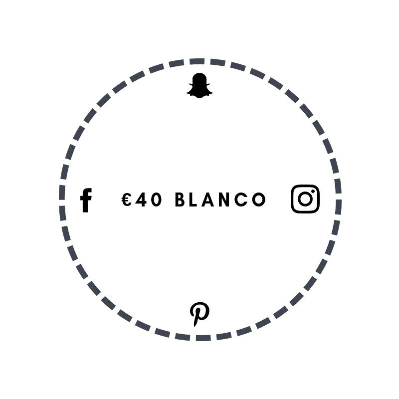 Blanco €40