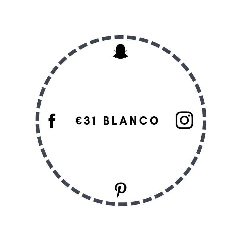 Blanco €31