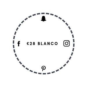 Blanco €28