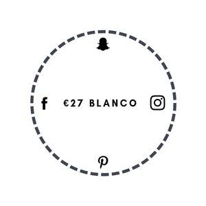 Blanco €27
