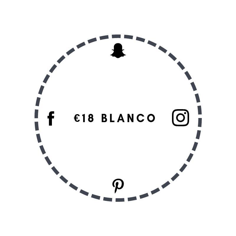 Blanco €18