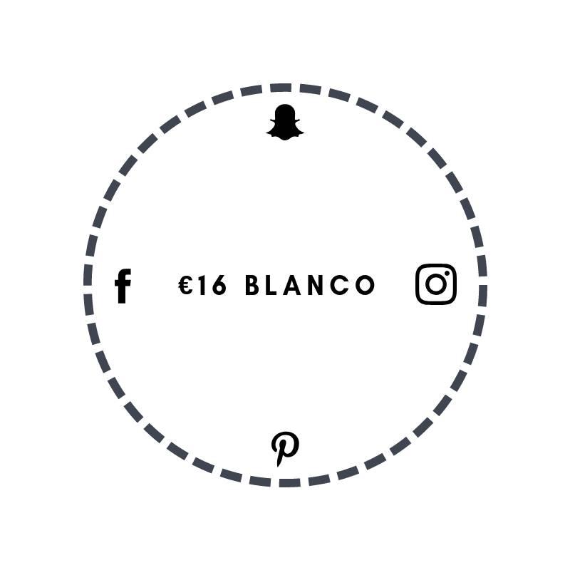 Blanco €16