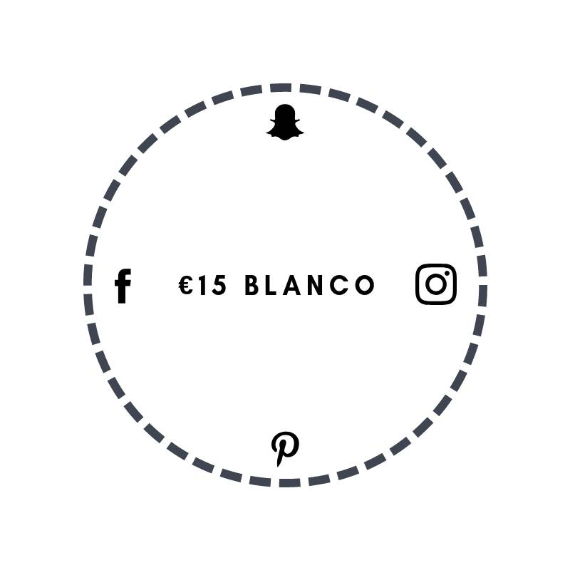 Blanco €15