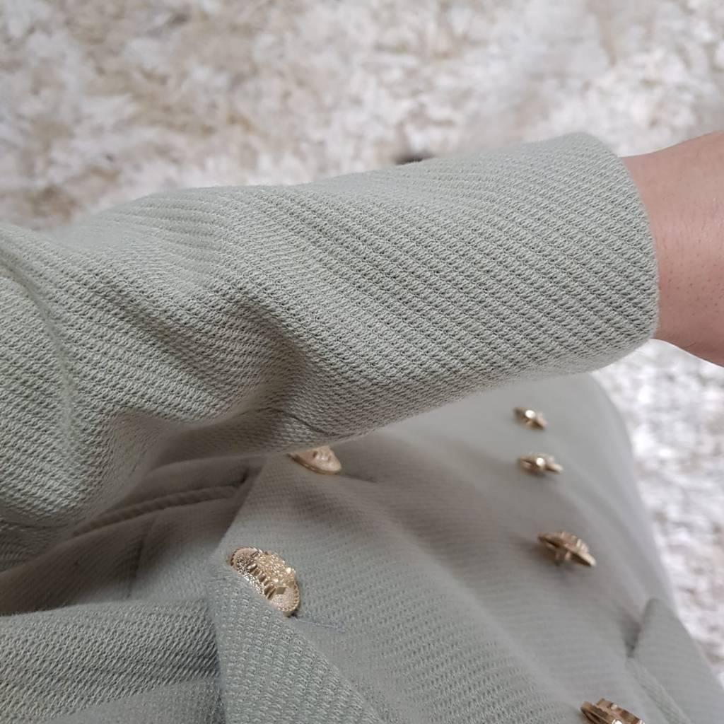 Jas grotteria beige-groen 514