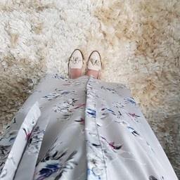Hijablouse nardo grijs