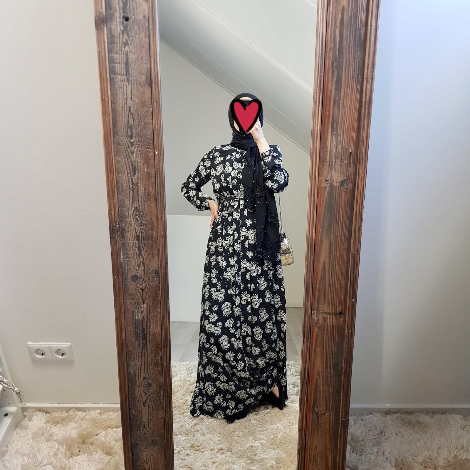 Maxi dress palmdale 087 print II black