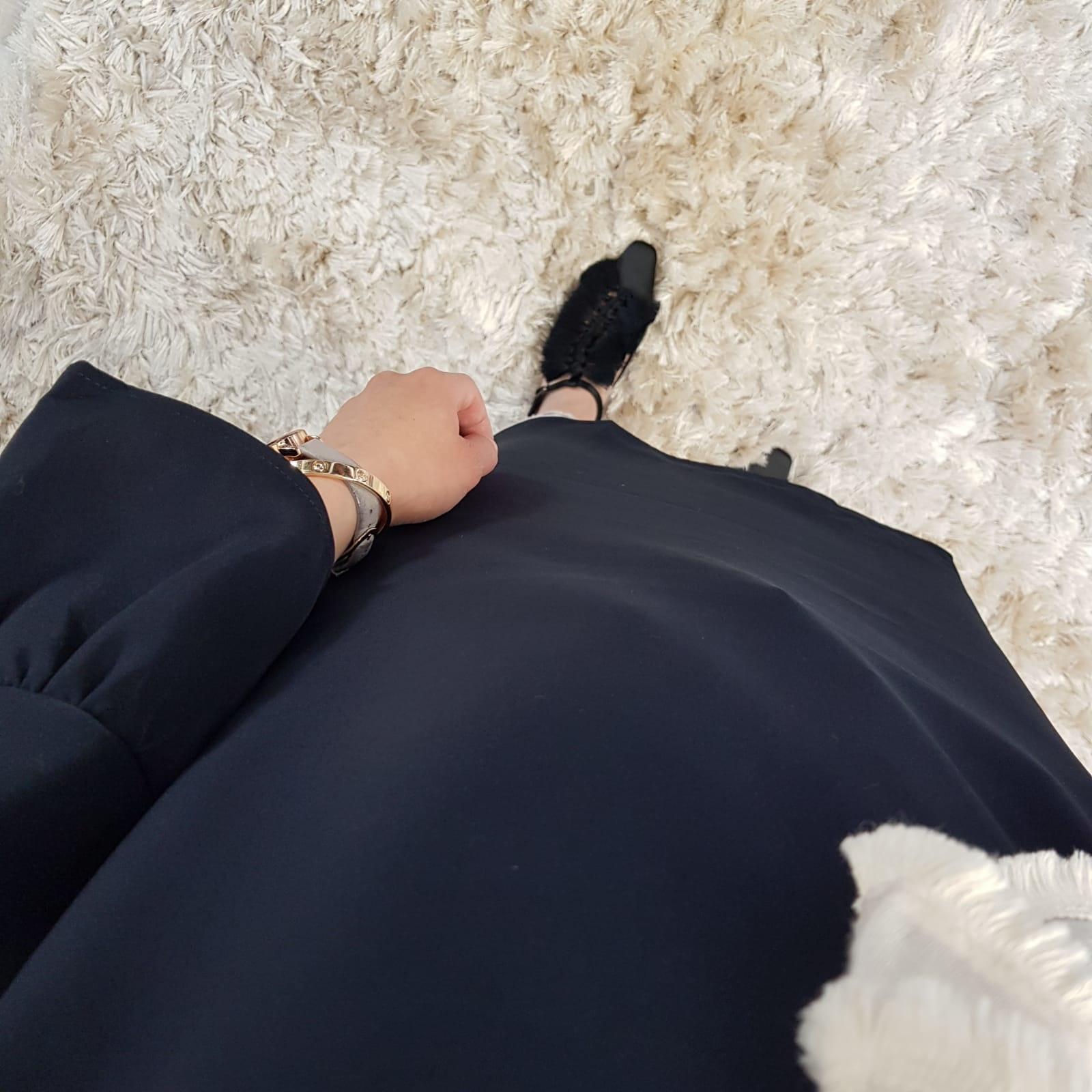Tuniek pozzuoli zwart
