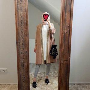 kimono (suede look) atrani brown