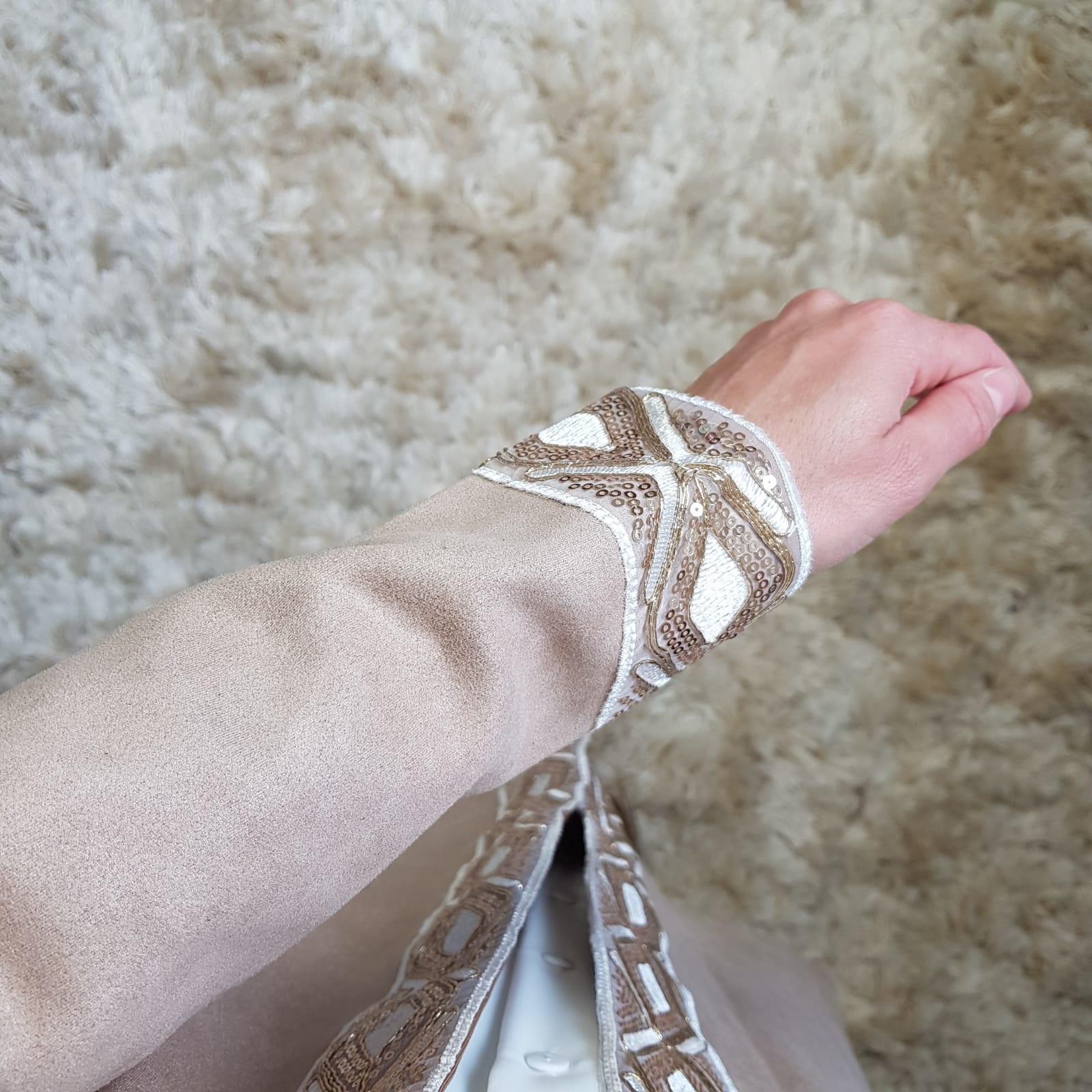 Kimono briatico beige