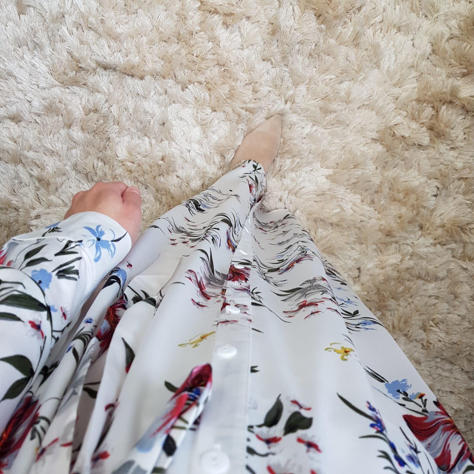 long blouse pitrasanta II white