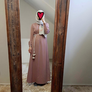 Abaya albarella antique pink