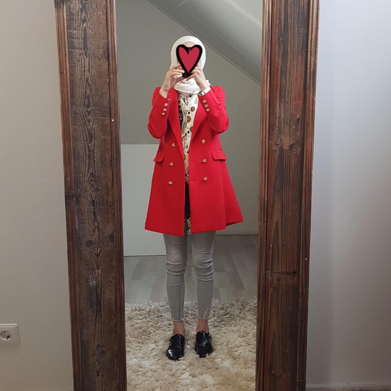 Blazer fuscaldo rood