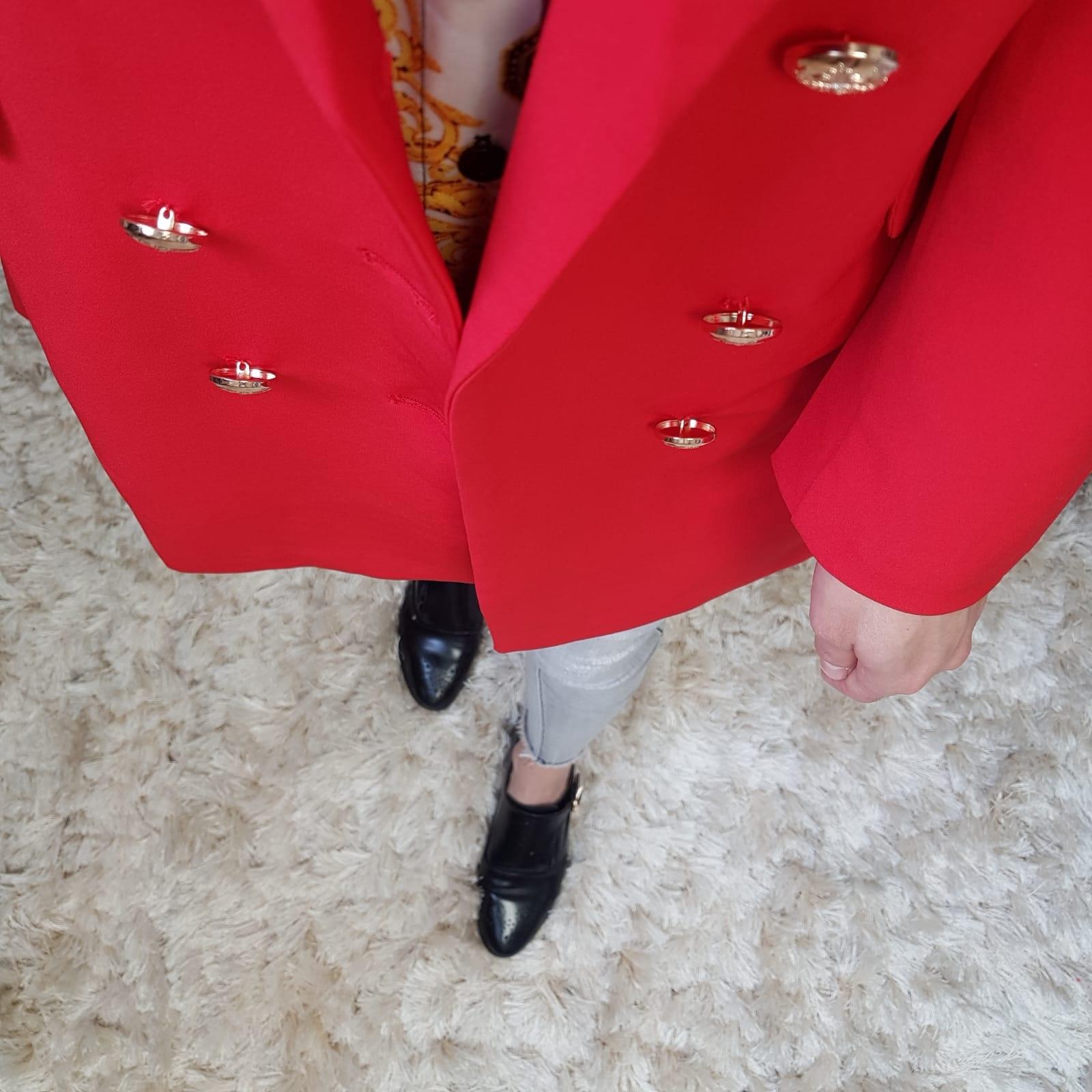 Blazer fuscaldo red