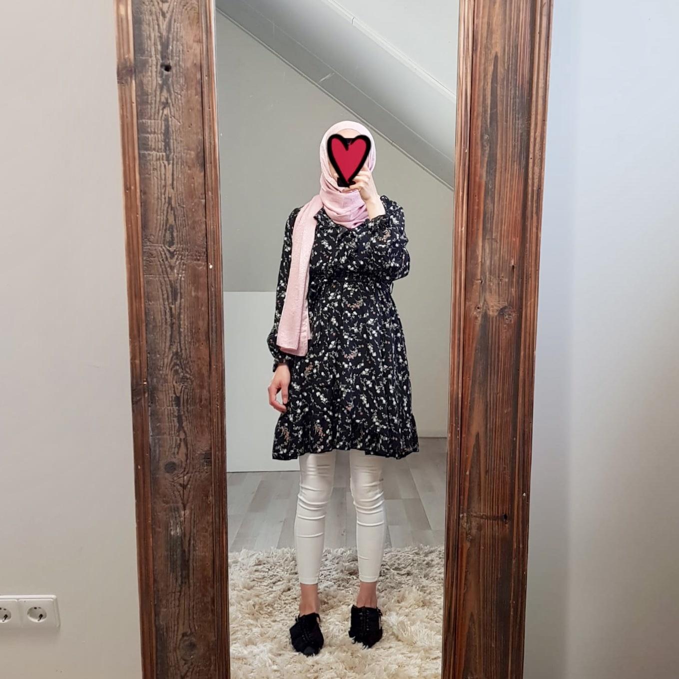 dress follonica print black