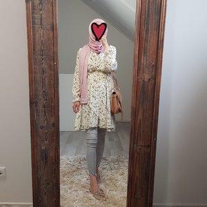 dress follonica print white