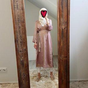 abaya jurkje elba pink