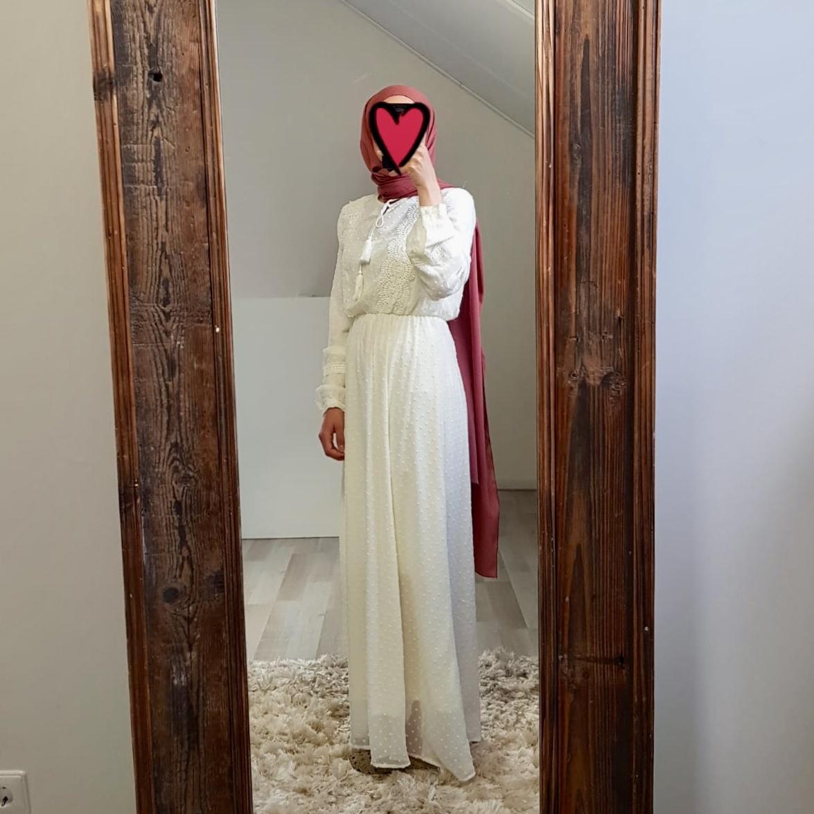 Maxi dress bibbona beige