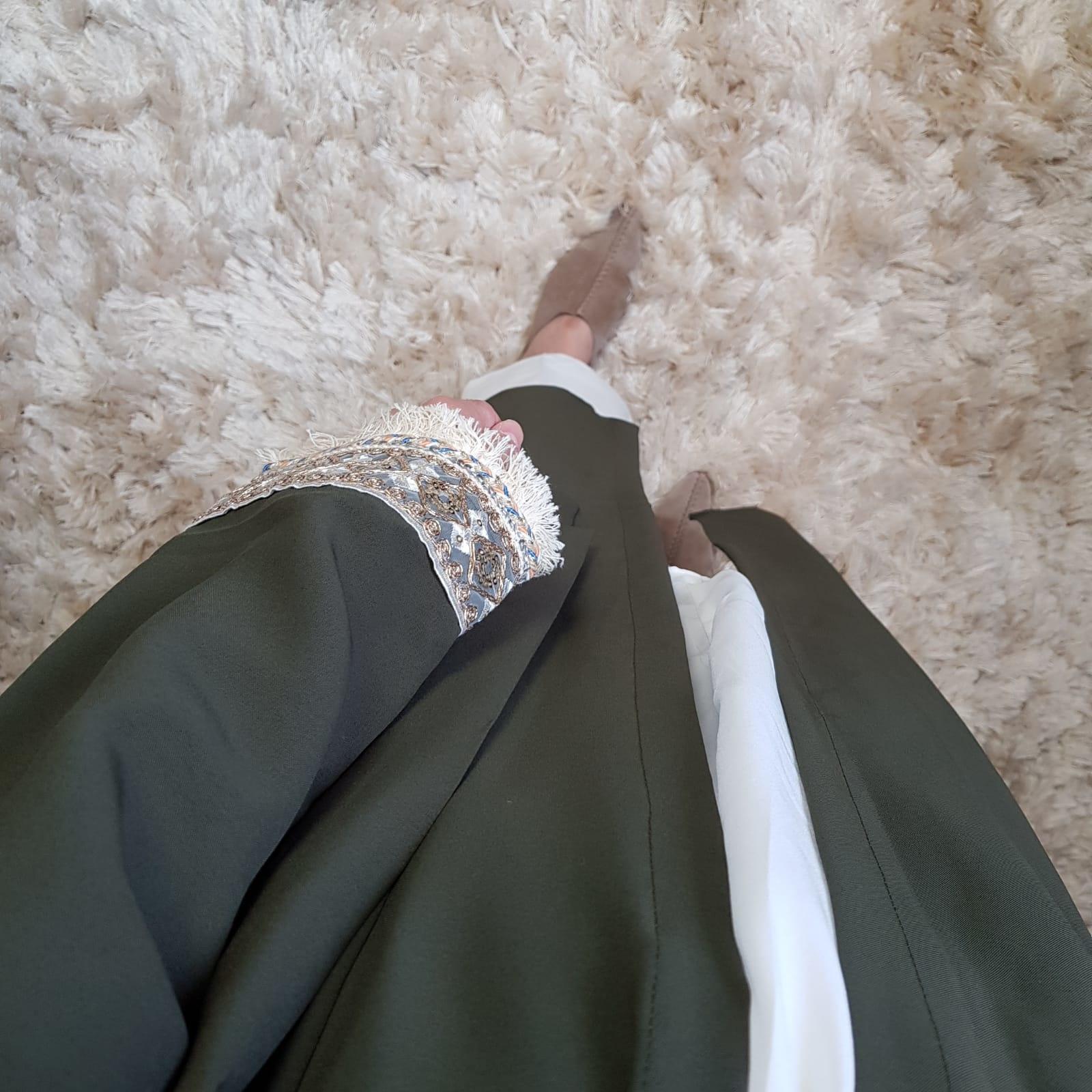 Kimono bova marina green