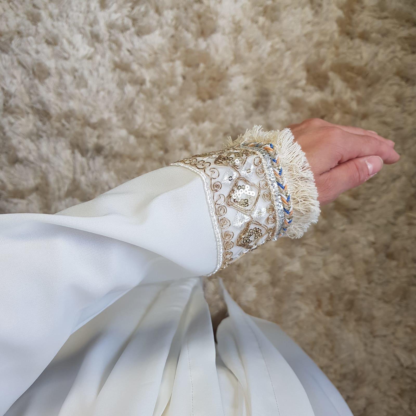 Kimono bova marina white