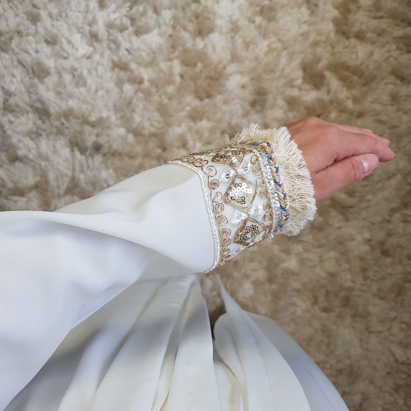 Kimono bova marina wit