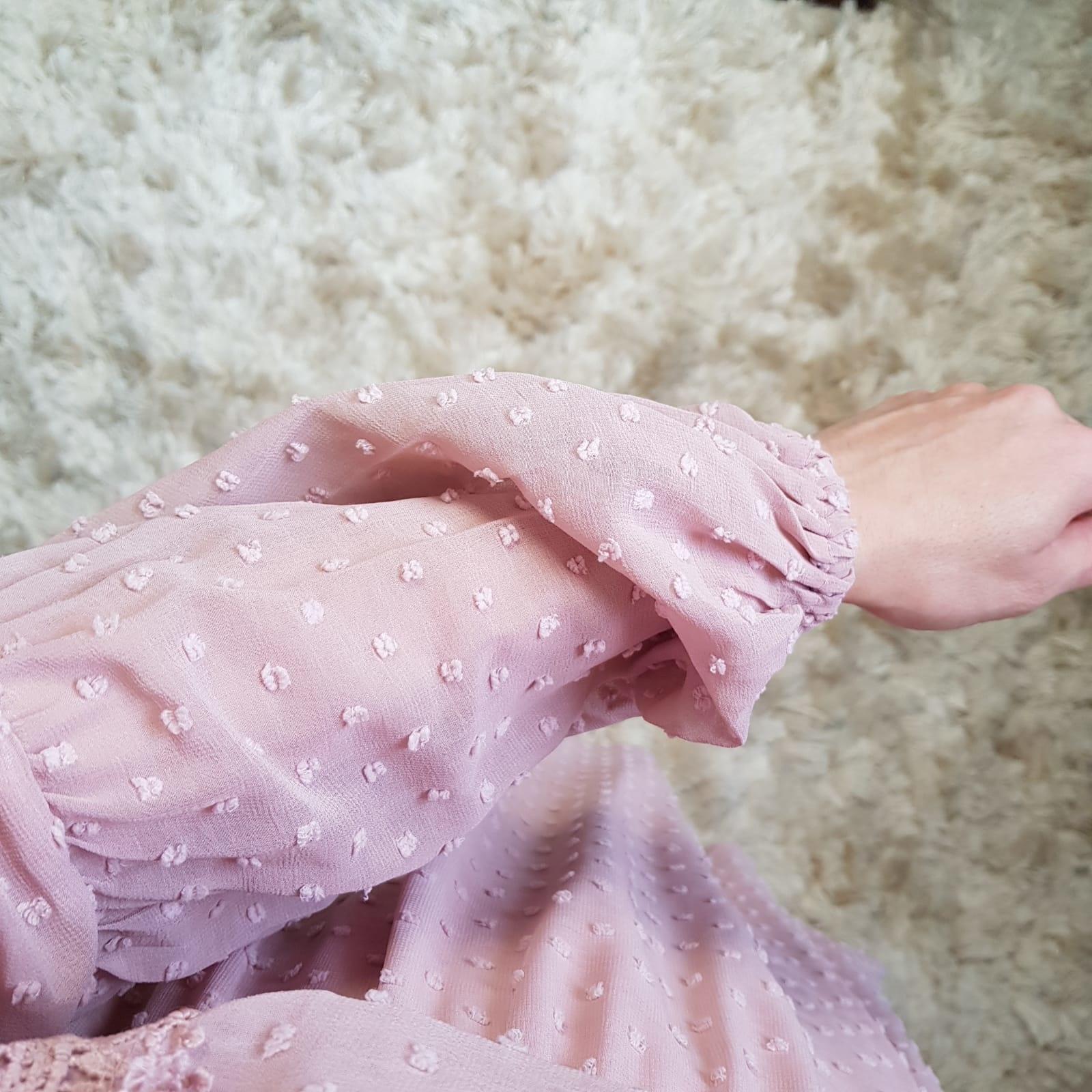 Dress bonassola  antique pink
