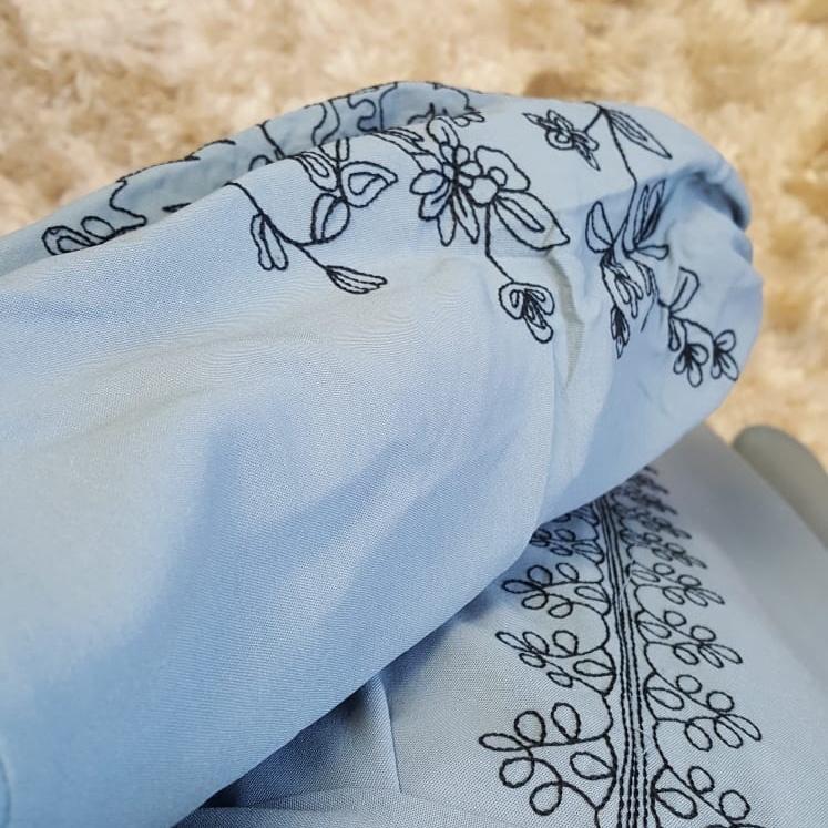 dress capraia blue