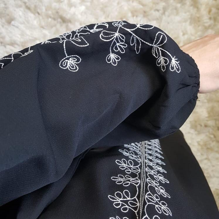 jurk capraia zwart
