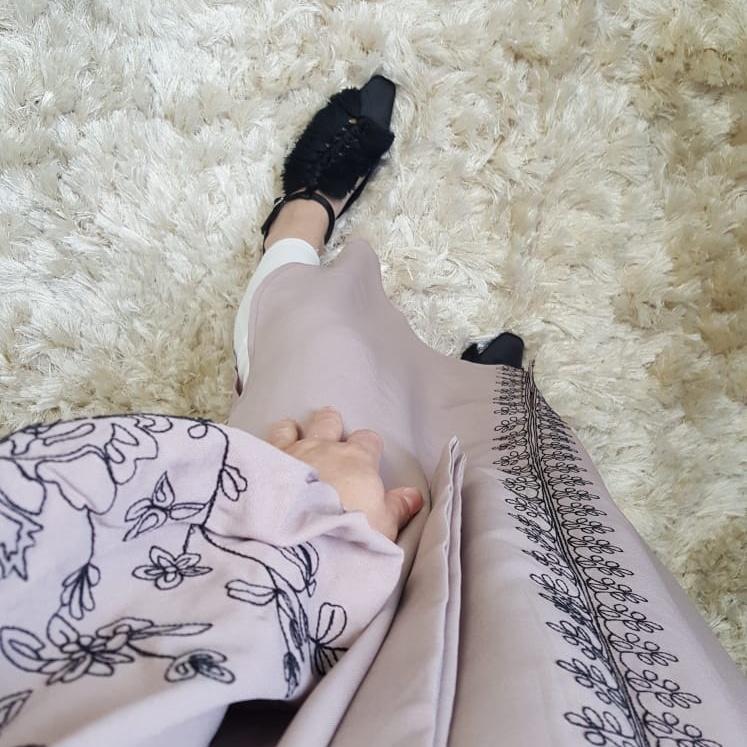 jurk capraia  pinky beige